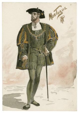 Costume design for Montague