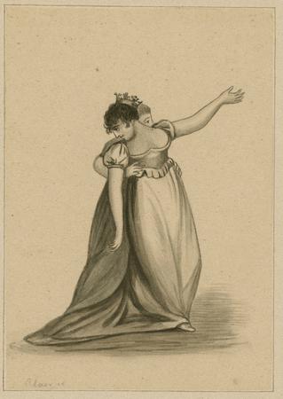 Sarah Siddons as Queen Katharine