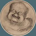 Self-portrait of Fedor Ignatevitch Stravinski as Falstaff