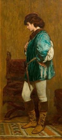 Rosalind Preparing to Leave Duke Frederick's Palace