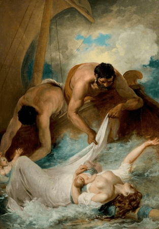 The Rescue of Aemilia from the Shipwreck