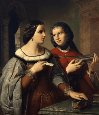 Portia and Nerissa