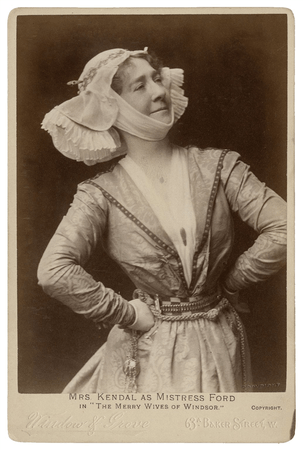 Madge Kendal as Mistress Ford