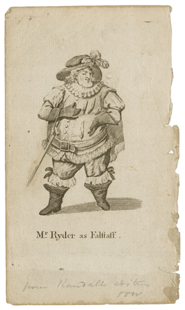 Thomas Ryder as Falstaff