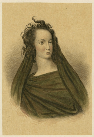 Jane Shirreff as one of the witches in Macbeth