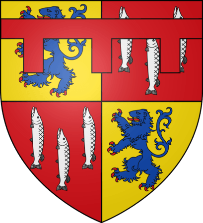 Coat of Arms of Sir Henry Percy (also known as Hotspur)