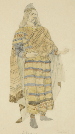 Costume design for Duke of Albany