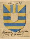 Shield design for Edmund Mortimer
