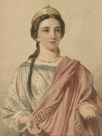Heroines of Shakespeare] [graphic] / [John W. Wright].