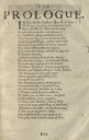 Prologue for Troilus and Cressida in the Third Folio