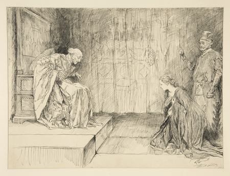 Presentation of Helena to the King