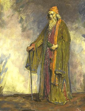 Sir Herbert Beerbohm Tree as Shylock