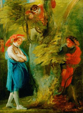 """""""Love's Labour's Lost"""", Act IV, Scene 3"""