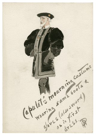 Costume design for Capulet