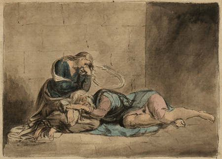 Lear and Cordelia in Prison