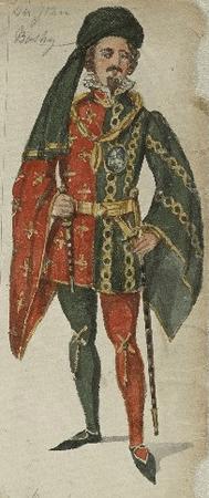 Costume for Sir John Bushy