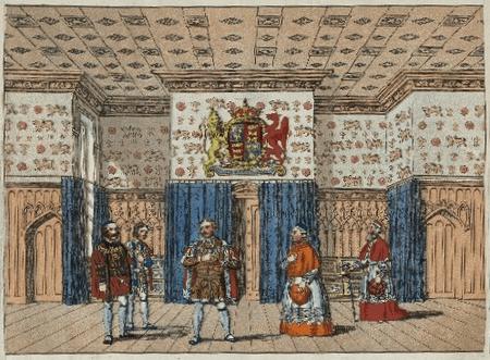 Scene designs for King Henry VIII