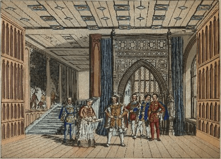 Scene designs for King Henry VIII