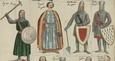 Costume designs for Knights