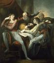 Dispute between Hotspur, Glendower, Mortimer and Worcester
