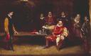 Falstaff Personating the King