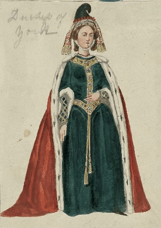 Costume for the Duchess of York