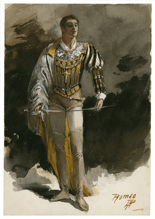 Costume design for Romeo