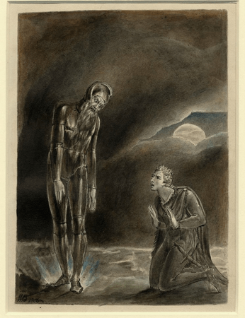Hamlet and his Father's Ghost