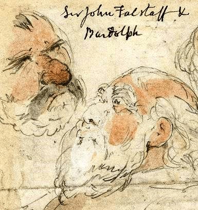 Falstaff and Bardolph