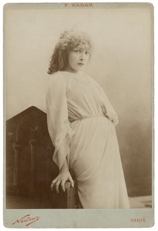 Sarah Bernhardt as Lady Macbeth