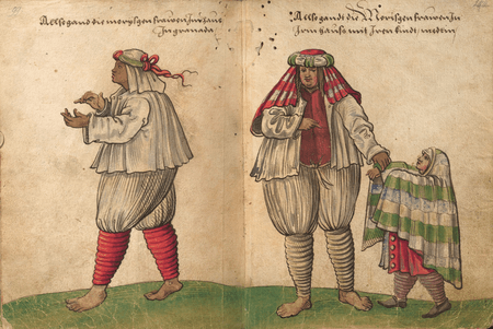 """Portraits of Spanish Moors, known as """"Moriscos"""""""