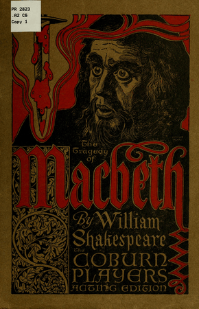 Cover of the Coburn Acting Edition of Macbeth
