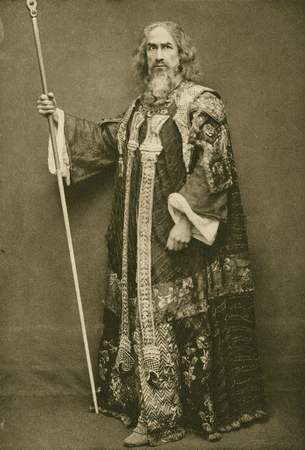 William Haviland as Prospero
