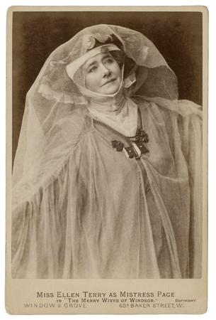 Ellen Terry as Mistress Page