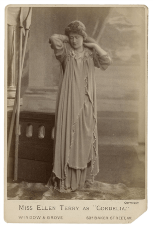 Ellen Terry as Cordelia