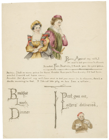 Design for a menu