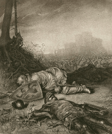 Falstaff at the Battle of Shrewsbury