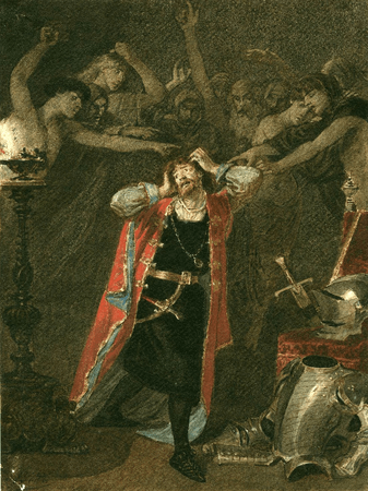 Richard III and the ghosts of those murdered by him