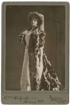Helena Modjeska as Queen Katherine