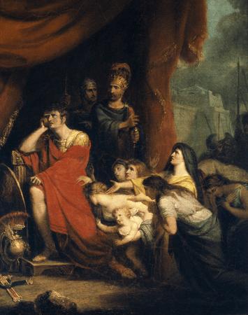 Volumnia pleads with Coriolanus