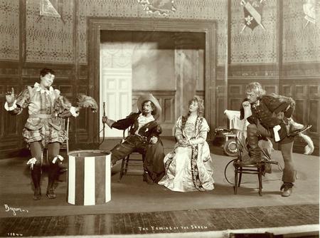 Jefferson Winter as Petruchio and Elsie Leslie as Katherine