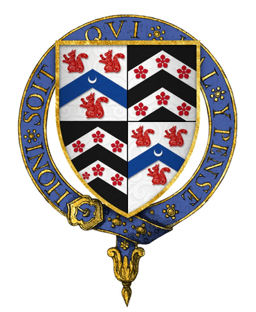 Coat of arms of Sir Thomas Lovell, KG