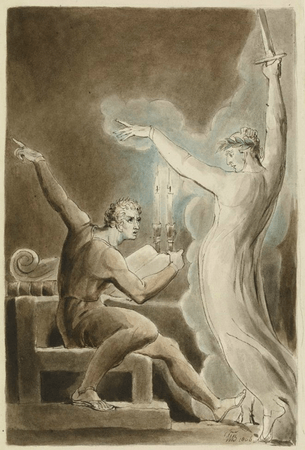 Brutus and Caesar's Ghost