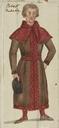 Costume design for Robert Faulconbridge