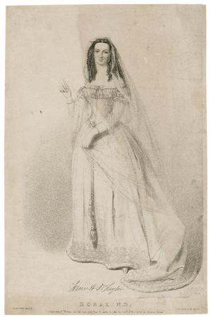 Harriett D. Taylor as Rosalind