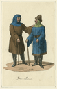 Costume designs for travellers