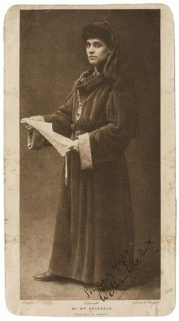 William Devereux as Constable of France