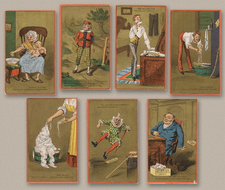 Dobbins' Electric Soap - The Seven Ages of Man