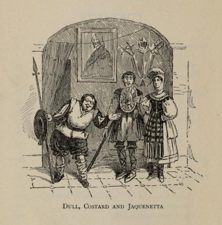 Dull, Costard, and Jaquenetta