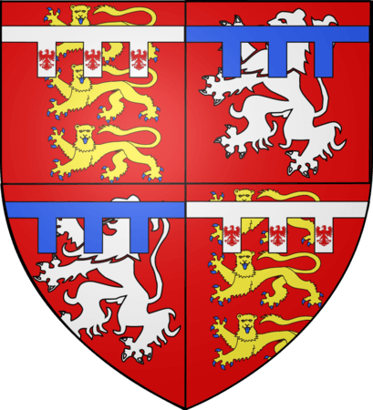 Coat of Arms of Thomas de Mowbray, 4th Earl of Norfolk